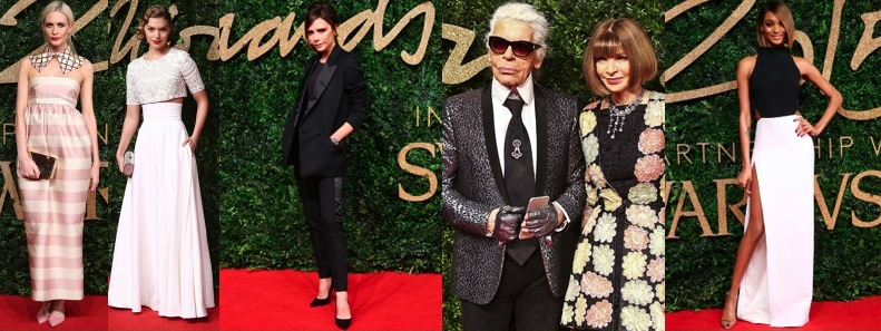 British Fashion Awards 2015: Lo mejor de la Moda en la Red Carpet