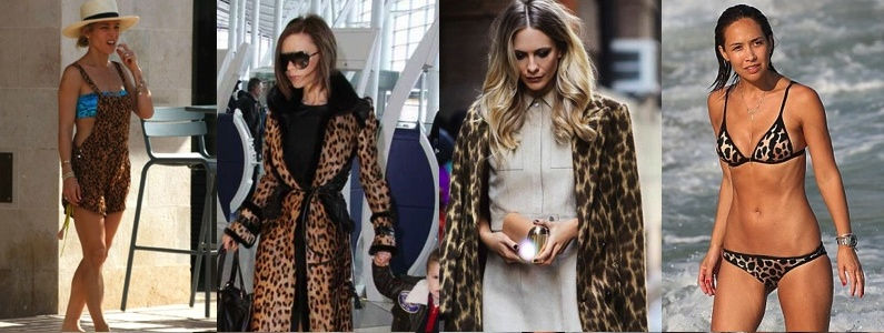 El Animal Print sigue marcando tendencia